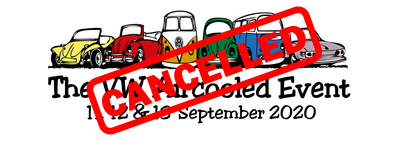 The VW Aircooled Event is Cancelled